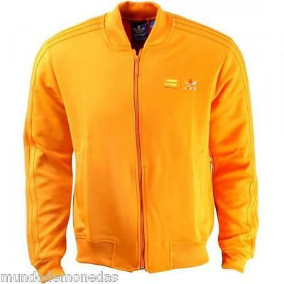ADIDAS CHAQUETA jacket orange pharell williams nueva con etiquetas S