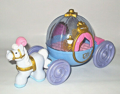 Fisher-Price Little People Disney Cinderella Stage Coach Carriage Light Sounds