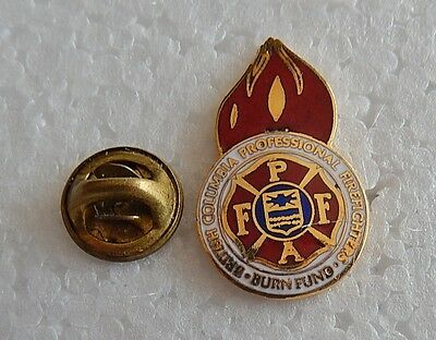 British Columbia Professional Firefighters Burn Fund Pin (Lot 16)