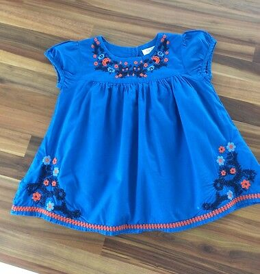 Girls top Indigo by Marks and Spencers age 2-3
