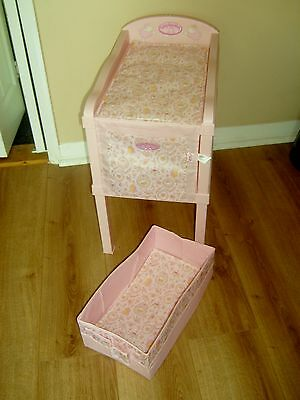 Baby Annabell Doll Changing Unit, Changing Mat And Storage  Vgc