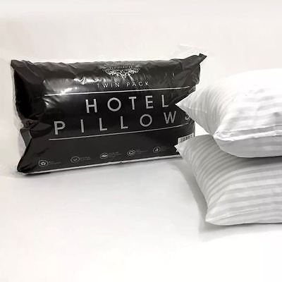 High Quality Luxury Hotel Pillows in Pair, Pack of 4 or 8 Soft Feel
