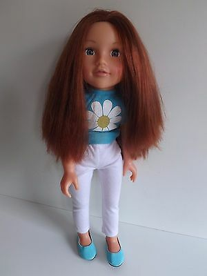 Design A Friend Doll Chloe  With Clothes & Shoes