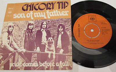 """CHICORY TIP  SON OF MY FATHER 7""""  belgium  PRESSING RARE P/S GLAM SWEET SLADE"""