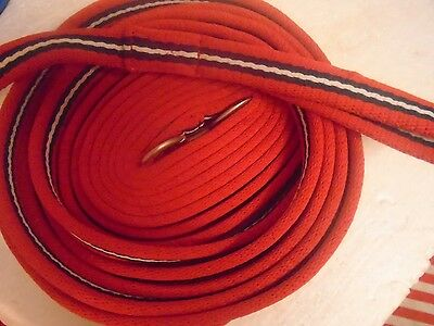 Lunge Line Padded Soft Long Line Rhinegold 25 Ft Plus Handle New  Colours