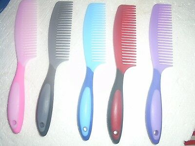 Mane And Tail Combs Soft Touch Rhinegold New Large Combs Soft Touch Handle