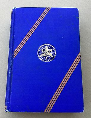 Vtg RARE Bike Bicycle Book 1928 1st Ed Romance of the Cyclists Touring Club CTC