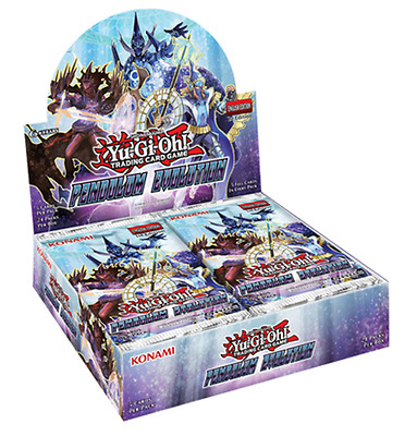 YuGiOh! Pendulum Evolution Booster Box - 24 Packs - Magician Sealed 1st Edition