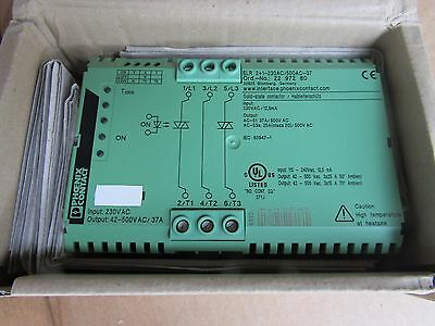 Phoenix Contact Contactron Solid State Contactor 37A - 2297280 - H9P1 6669854