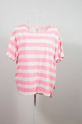 "Size 12 ""Bonds"" Lovely Ladies Striped Pyjama Top. Great Condition! Bargain!"