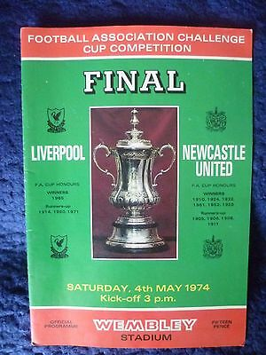 1974 F. A. Cup Final - Liverpool v Newcastle United