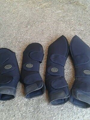 Mark Todd Travelling Boots Black Full Size