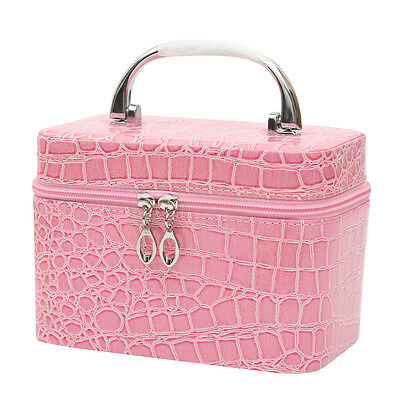 Large Beauty Make Up Nail Cosmetic Box Jewellery Vanity Saloon Case Storage Bags