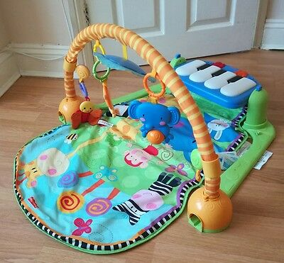 Fisher price discover and grow kick and play piano gym baby toy musical