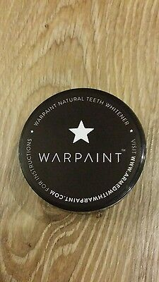 Warpaint teeth whitening tester for 30 uses. 3gr.