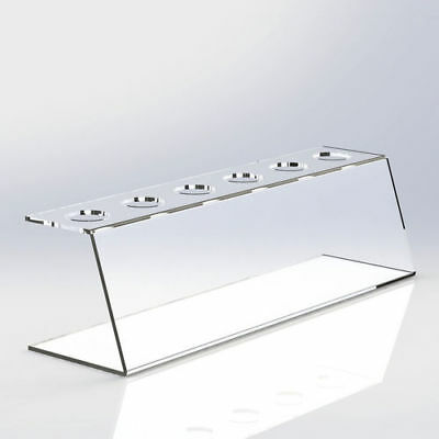 Acrylic Ice Cream Cone / Chip Cone Holder Counter Top Display Stand Perspex Rack
