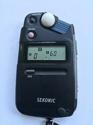 Sekonic Flashmate L-308S Digital Light/Flash Meter in perfect condition