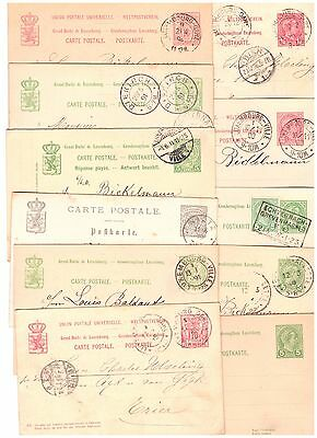 Luxembourg classic stationery lot x 11 !