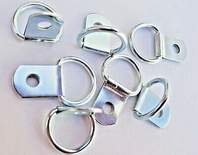 D Rings Picture Frame Hangers Hooks 28mm x 17mm Nickel Plated Top Quality Craft