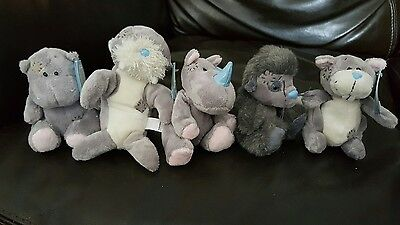 11 Small Me to You Blue nose teddy bears lot