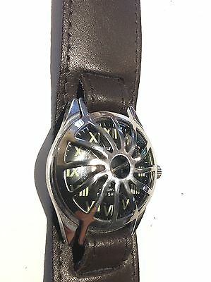Broad Arrow Men's Winding Watch With Trench Guard & Band