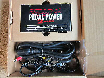 Voodoo Lab Pedal Power 2 Plus, THE WAY to Power your board.