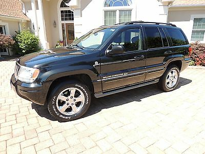 2004 Jeep Grand Cherokee Overland Jeep Grand Cherokee Overland Warranty Included