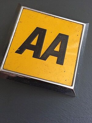 Vintage AA Car Badge