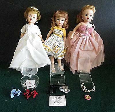 Three Revlon Dolls And Accessories