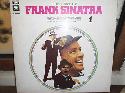 Frank Sinatra ‎– The Best Of Frank Sinatra N.1 lp (Capitol, Italy 1982)