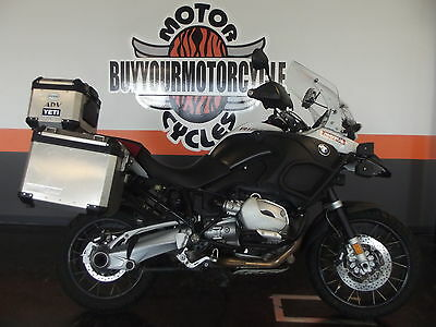 BMW R1200GS  2007 BMW R1200GS R 1200 GS Adventure CLEAN LOADED WITH EXTRAS GPS WE FINANCE!!