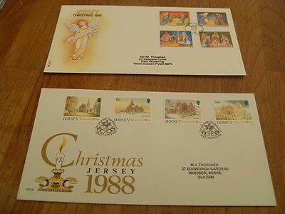 Jersey F.d.covers -Christmas 1988 /1998