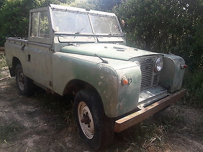 land rover series 2 1958 LHD complete perfect to restore petrol