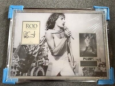 309 Rod The Authobiography Signed and Framed