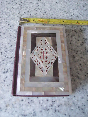 Prayer Book Mother Of Pearl Covered