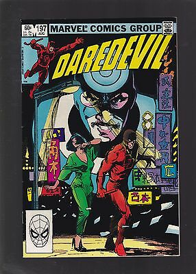 DareDevil #197 1st Yuriko Oyama Appearance, She Later Becomes Lady Deathstrike!