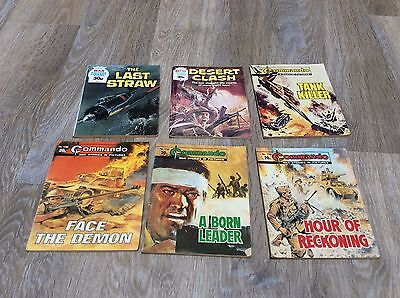 Four COMMANDO War Picture Comics #s 1739- 1770. Dated 1983