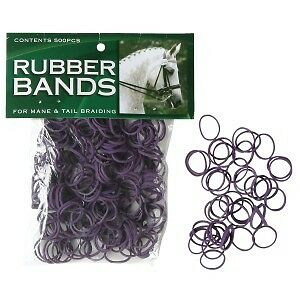 Mane BRAID Rubber Bands Horse Riding