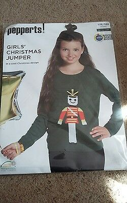 BNWT Girls Christmas Jumper 6-8 years