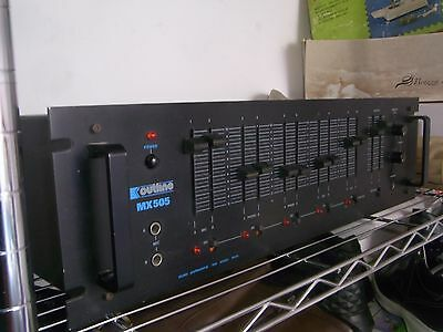 OUTLINE MX-505  MIXER PROFESSIONALE (made in Italy)
