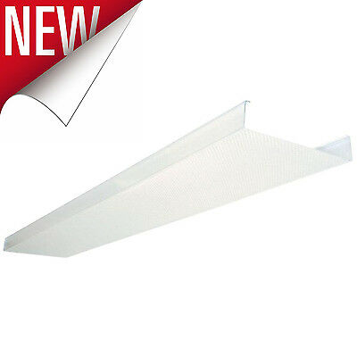 Fluorescent Ceiling Light Fixture LED Cover Lens Clear Acrylic Wraparound Lights