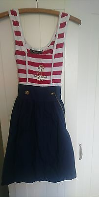 sailor dress size 8