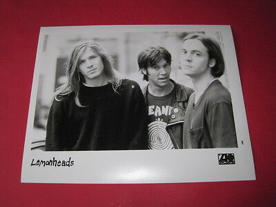 THE LEMONHEADS EVAN DANDO  10 x 8 inch promo photo photograph #F043_2845