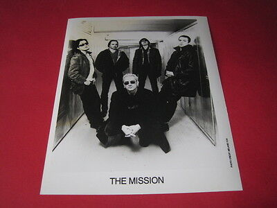 THE MISSION WAYNE HUSSEY  10 x 8 inch promo photo photograph #F043_2849