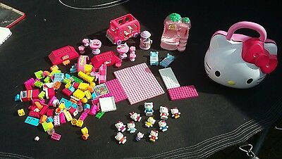 Hello Kitty bundle of lego, characters and roller disco toy