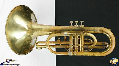 F.E. Olds & Son 1978 Mellophone, Fullerton, CA, AS-IS for Parts, Project 34348