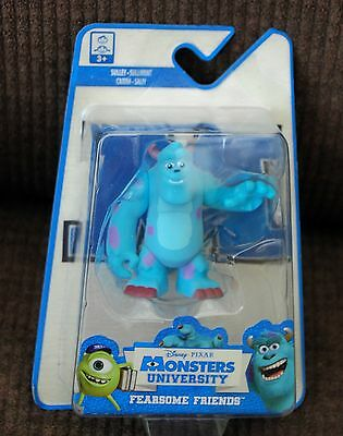 "Disney Monsters University Fearsome Friends ""Sulley"" Mini Figure New Sealed"