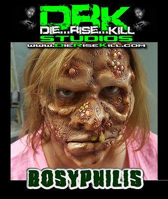 """""""Bosyphilis"""" Full face Latex Prosthetic for Cosplay / Halloween"""