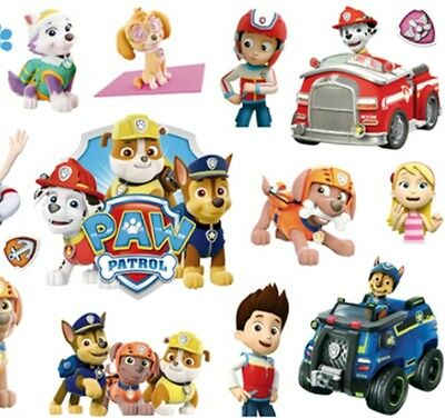 ❤️ Neues Paw Patrol 15 Kinder Tattoos Temporary Wasserdicht