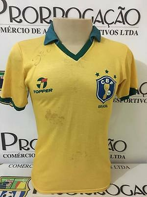 Brazil nº 10 ZIco 1986 World Cup worn and signed